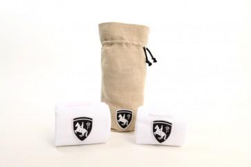 Bandagen (2 St)  weiß/Logo+Verpackung