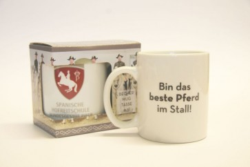 """Häferl """"Bin das beste Pferd im Stall"""""""