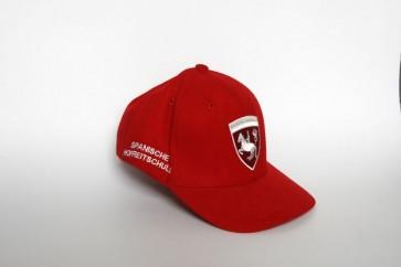 Baseballkappe für Kinder (rot)