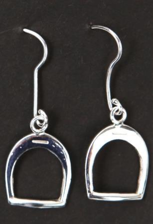 Ohrringe Steigbügel (Silber)