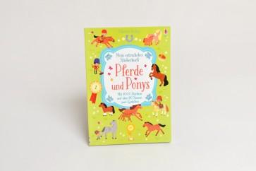Pferde und Ponys Stickerbuch