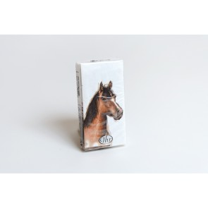 Taschentücher Pferdekopf