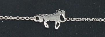 Armband Pferd Silber