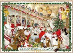 Weihnachts-Postkarte SRS