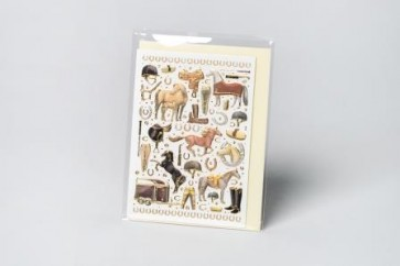 Minikarte Pferde