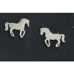 Ohrstecker Pferd Silber