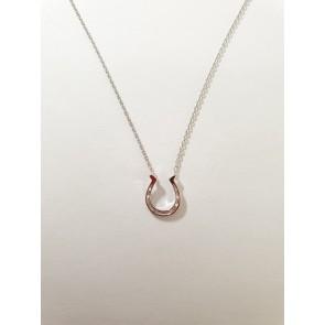 Halskette Hufeisen Silber