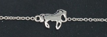 Bracelet Horse Silver