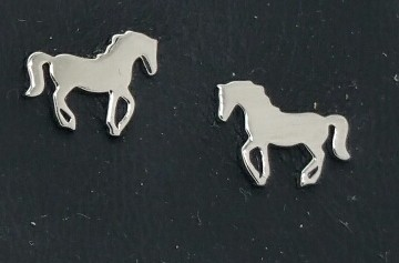 Stud Earrings Horses