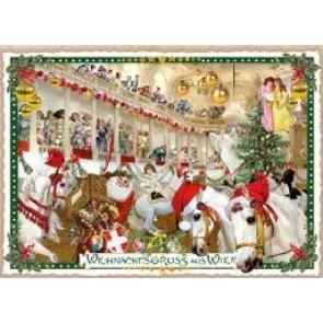 Christmas postcard SRS