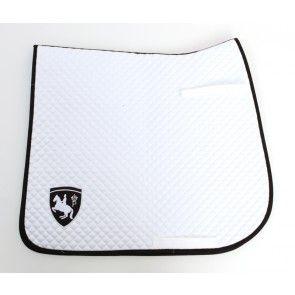 Saddlepad white