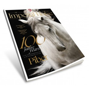 """Booklet """"The Imperial Horse"""" 100 years Lipizzaner Stud Piber"""